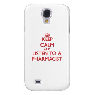Keep Calm and Listen to a Pharmacist HTC Vivid / Raider 4G Cover
