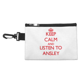Keep Calm and listen to Ansley Accessory Bag