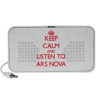 Keep calm and listen to ARS NOVA Travelling Speaker