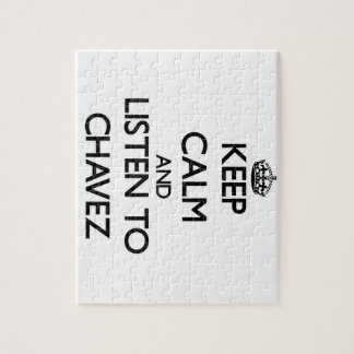 Keep calm and Listen to Chavez Puzzle