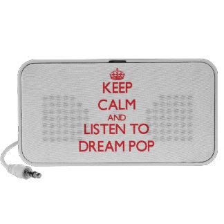 Keep calm and listen to DREAM POP Travel Speaker