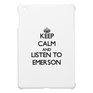 Keep calm and Listen to Emerson Case For The iPad Mini