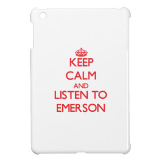 Keep calm and Listen to Emerson Cover For The iPad Mini