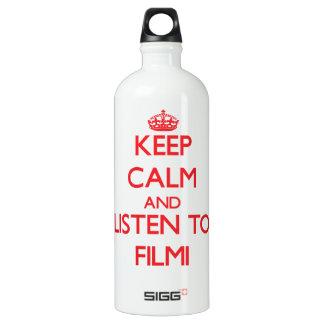Keep calm and listen to FILMI SIGG Traveler 1.0L Water Bottle