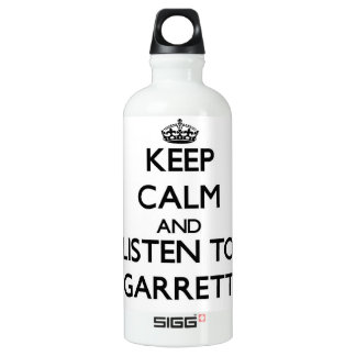 Keep calm and Listen to Garrett SIGG Traveler 0.6L Water Bottle