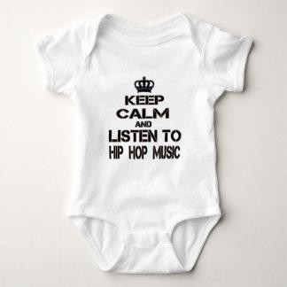 Keep Calm And Listen To Hip Hop Music T Shirt
