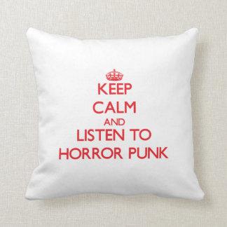Keep calm and listen to HORROR PUNK Pillows