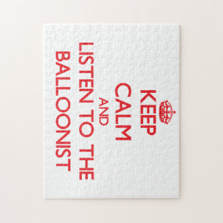 Keep Calm and Listen to the Balloonist Puzzle
