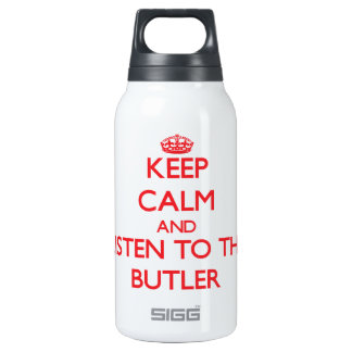 Keep Calm and Listen to the Butler SIGG Thermo 0.3L Insulated Bottle
