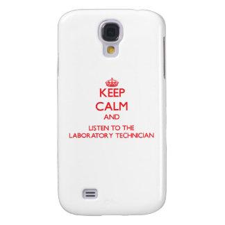Keep Calm and Listen to the Laboratory Technician HTC Vivid / Raider 4G Case