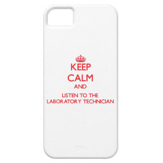 Keep Calm and Listen to the Laboratory Technician Cover For iPhone 5/5S
