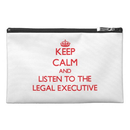 Keep Calm and Listen to the Legal Executive Travel Accessories Bags