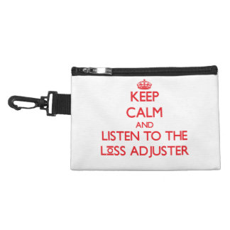 Keep Calm and Listen to the Loss Adjuster Accessory Bags
