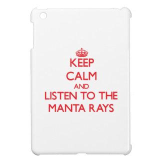 Keep calm and listen to the Manta Rays iPad Mini Cover