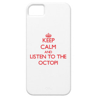 Keep calm and listen to the Octopi iPhone 5 Case