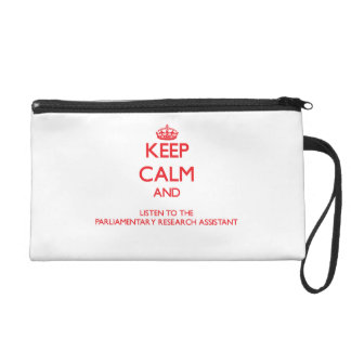 Keep Calm and Listen to the Parliamentary Research Wristlets