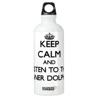 Keep calm and Listen to the Spinner Dolphins SIGG Traveler 0.6L Water Bottle