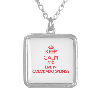 Keep Calm and Live in Colorado Springs Jewelry