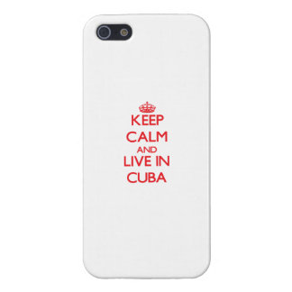 Keep Calm and live in Cuba Covers For iPhone 5