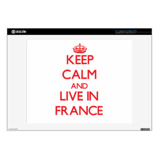 "Keep Calm and live in France Skin For 14"" Laptop"