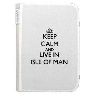 Keep Calm and Live In Isle Of Man Kindle Covers