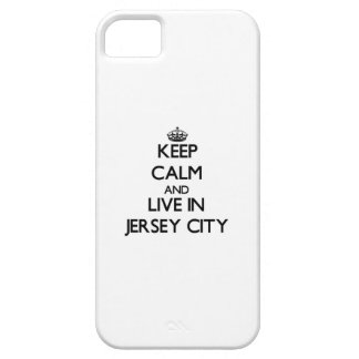 Keep Calm and live in Jersey City iPhone 5 Cases