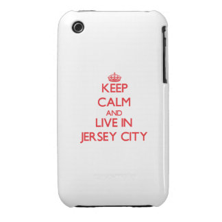 Keep Calm and Live in Jersey City iPhone 3 Case-Mate Cases
