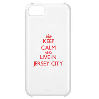 Keep Calm and Live in Jersey City iPhone 5C Cover