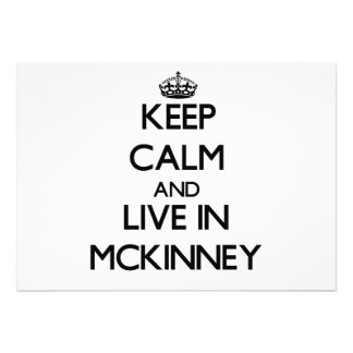 Keep Calm and live in Mckinney Announcements