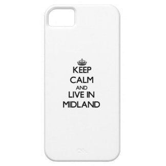 Keep Calm and live in Midland iPhone 5 Case
