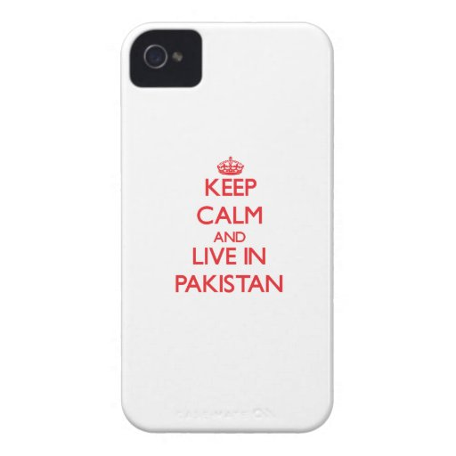 Keep Calm and live in Pakistan iPhone 4 Case