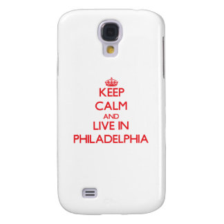Keep Calm and Live in Philadelphia Samsung Galaxy S4 Covers