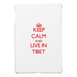 Keep Calm and live in Tibet Case For The iPad Mini