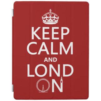 Keep Calm and London iPad Cover