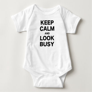 Keep Calm and Look Busy Shirt