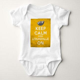 Keep Calm and Louisville On, Louisville, Colorado Baby Bodysuit