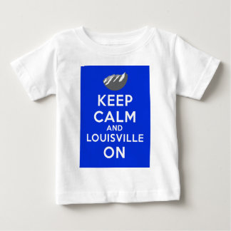 Keep Calm and Louisville On, Louisville, Colorado Baby T-Shirt