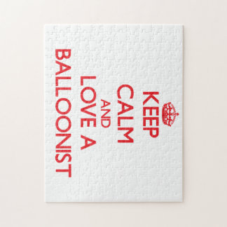 Keep Calm and Love a Balloonist Puzzle