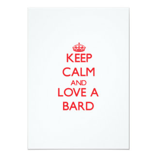 Keep Calm and Love a Bard Card