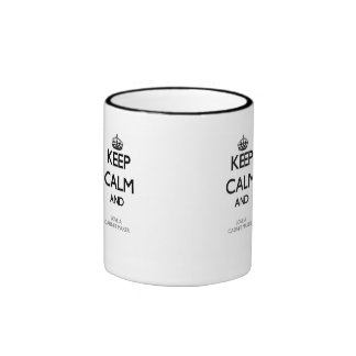 Keep Calm and Love a Cabinet Maker Ringer Mug