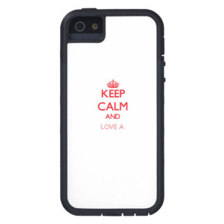 Keep calm and Love a Centipede iPhone 5 Cover