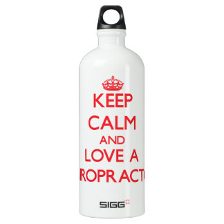 Keep Calm and Love a Chiropractor SIGG Traveler 1.0L Water Bottle