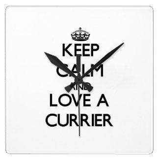 Keep Calm and Love a Currier Wall Clocks