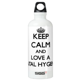 Keep Calm and Love a Dental Hygienist SIGG Traveler 0.6L Water Bottle