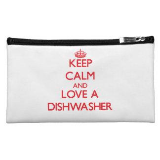 Keep Calm and Love a Dishwasher Makeup Bag