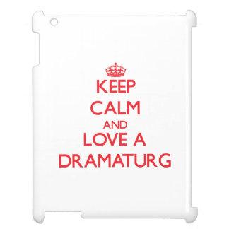 Keep Calm and Love a Dramaturg iPad Cases