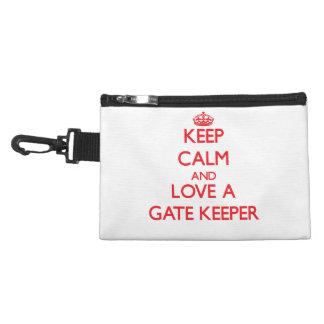 Keep Calm and Love a Gate Keeper Accessories Bags