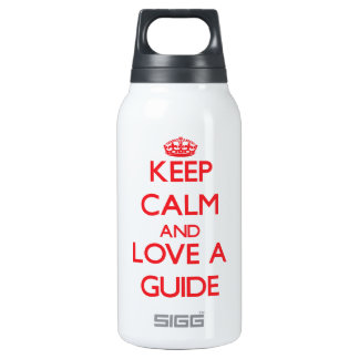 Keep Calm and Love a Guide SIGG Thermo 0.3L Insulated Bottle