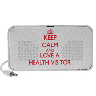 Keep Calm and Love a Health Visitor Travel Speaker