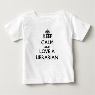 Keep Calm and Love a Librarian T Shirts